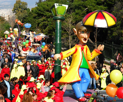 Carnival 2012 Festival Schedule in Athens