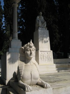 Athens First Cemetery is like an outdoor sculpture garden