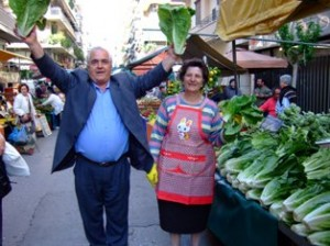 Laiki agora market is a great place to visit in Athens