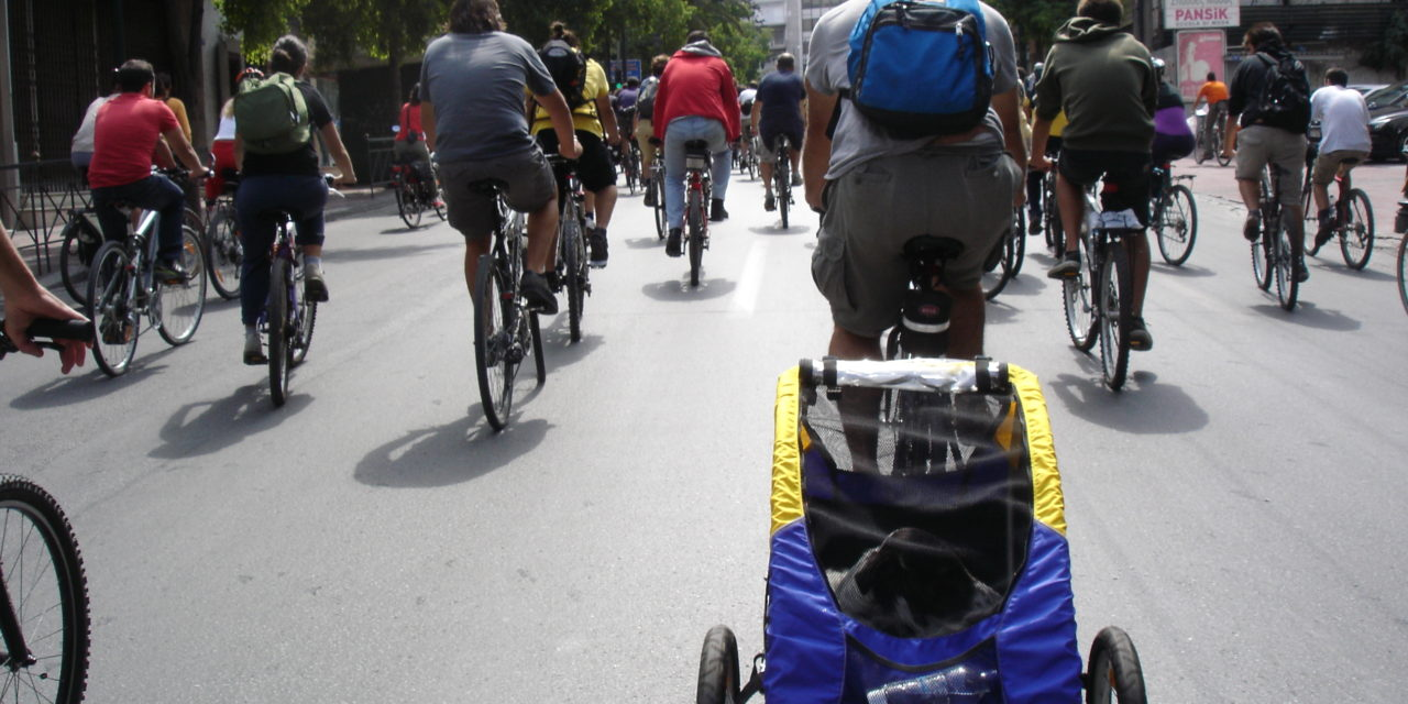 Celebrating the bicycle in Athens