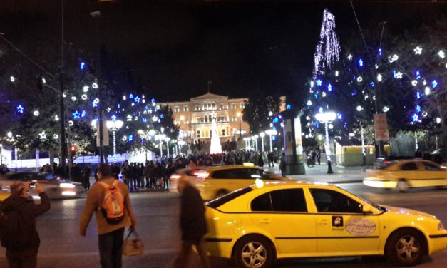 Christmas 2011 in Athens