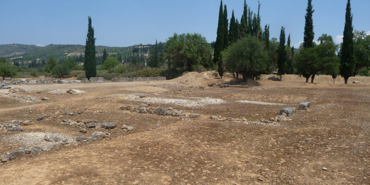 The old road from Athens, the evil staircase